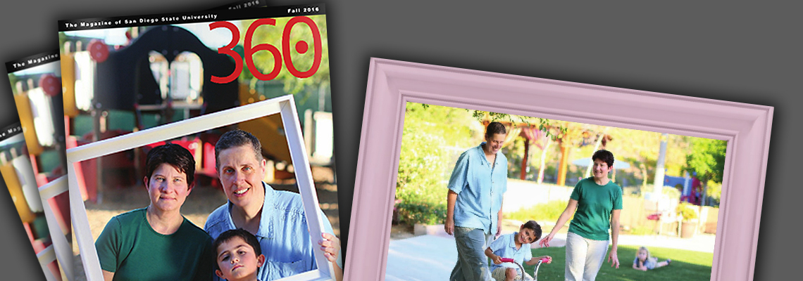 SASH Co-Director Heather Corliss and Family Featured in 360 Magazine!